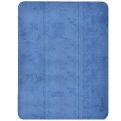 "Чeхол Comma для iPad Air4 10.9"" Leather Case with Pen Holder Series (Blue)"