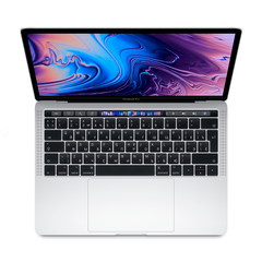 "Apple MacBook Pro 13"" Touch Bar Silver 128GB (MUHQ2) 2019"