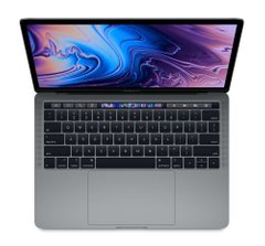Apple MacBook Pro 13 Retina Space Gray with Touch Bar and Touch ID (MV962) 2019, Space Gray, 256 ГБ, Новый