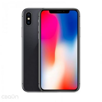 iPhone X 64GB Space Gray, Space Gray, 64GB, Новый, 1