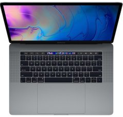Apple MacBook Pro 15 with Touch Bar and Touch ID Space Gray (MR942) 2018, Space Grey, 512 ГБ, Новый