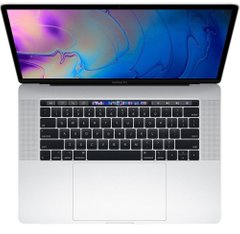 Apple MacBook Pro 15 with Touch Bar and Touch ID Silver (MR962) 2018, Silver, 256 ГБ, Новый