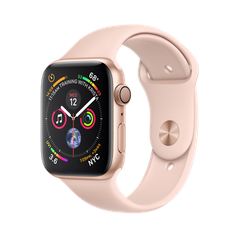 Б/У Apple Watch Series 4 GPS 44mm Gold Aluminium Case with Pink Sand Sport Band (MU6F2)