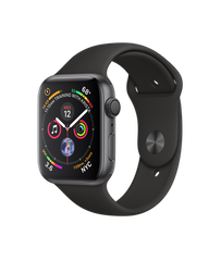 Б/У Apple Watch Series 4 GPS 44mm Space Gray Aluminium Case with Black Sport Band (MU6D2)