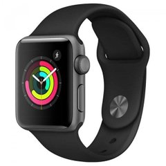 Б/В Apple Watch Series 3 42mm GPS Space Gray Aluminium Case with Black Sport Band (MTF32)
