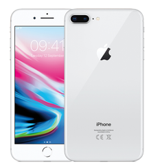 iPhone 8 Plus 64GB (Silver), Silver, Silver, 64GB, Новый, 1, iPhone 8 Plus