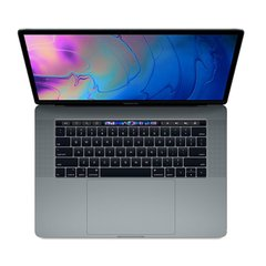 Apple MacBook Pro 15 with Touch Bar and Touch ID Space Gray (MR932) 2018, Space Grey, 256 ГБ, Новый