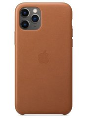 Apple iPhone 11 Pro Leather Case - Saddle Brown (MWYE2)