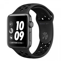 Apple Watch Series 3 Nike+ 38mm GPS Space Gray Aluminum Case with Anthracite/Black Nike Sport Band (MQKY2), Space Gray