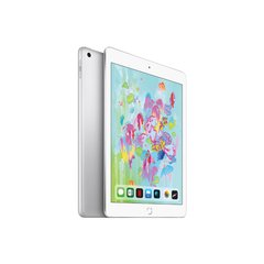 iPad Wi-Fi+LTE 128GB Silver 2018 (MR7D2), Silver, 128GB