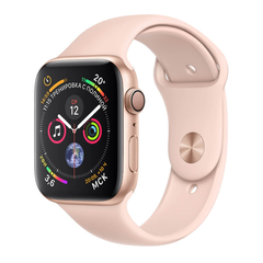 Б/У Apple Watch Series 4 40mm Gold Aluminum Case with Pink Sand Sport Band (MU682)