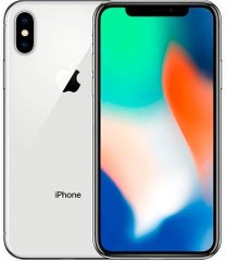 Apple iPhone X 64GB Silver (MQAD2) бу