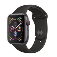 Б/У Apple Watch Series 4 40mm GPS+LTE Space Gray Aluminum Case with Black Sport Band (MTUG2)