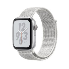 Apple Watch NIKE+ GPS 40 mm Silver Aluminum Case with Summit White Nike Sport Loop (MU7F2)