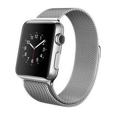 Б/У Apple Watch 38mm Stainless Steel Case with Milanese Loop (MJ322)