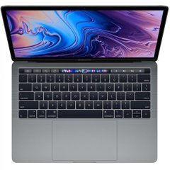 Apple MacBook Pro 13 Retina Space Gray with Touch Bar and Touch ID (MR9Q2) 2018, Space Gray, 256 ГБ, Новый